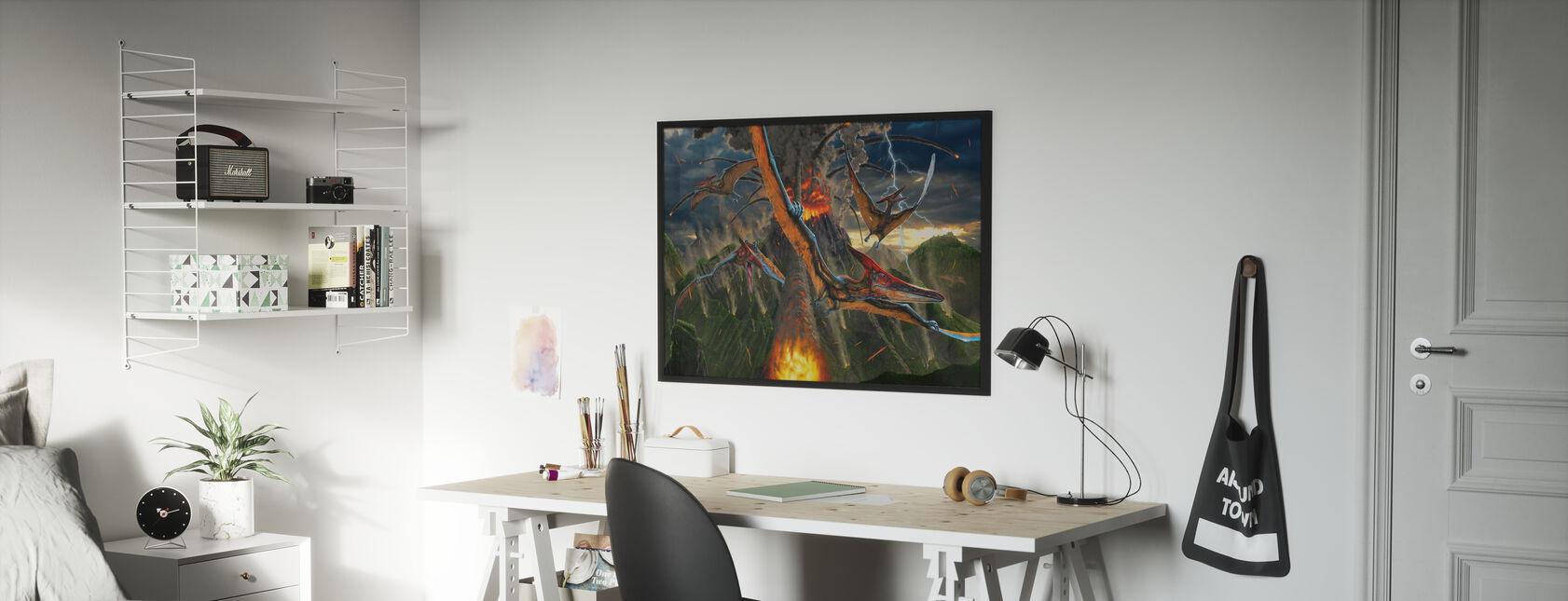 Eruption - Poster - Kids Room