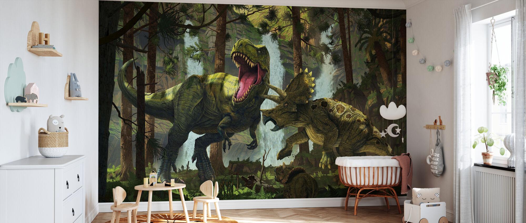 Protection - Wallpaper - Nursery