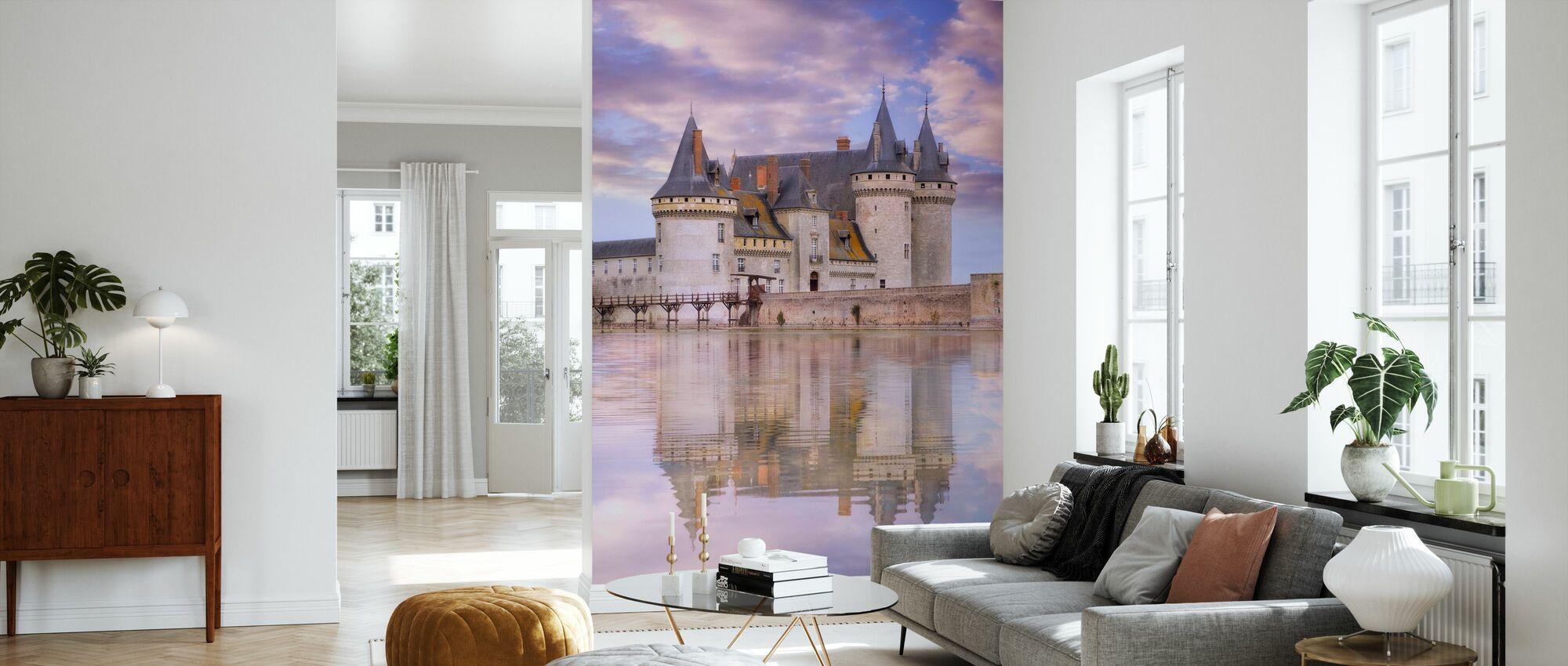 Castle at Sunset - Wallpaper - Living Room