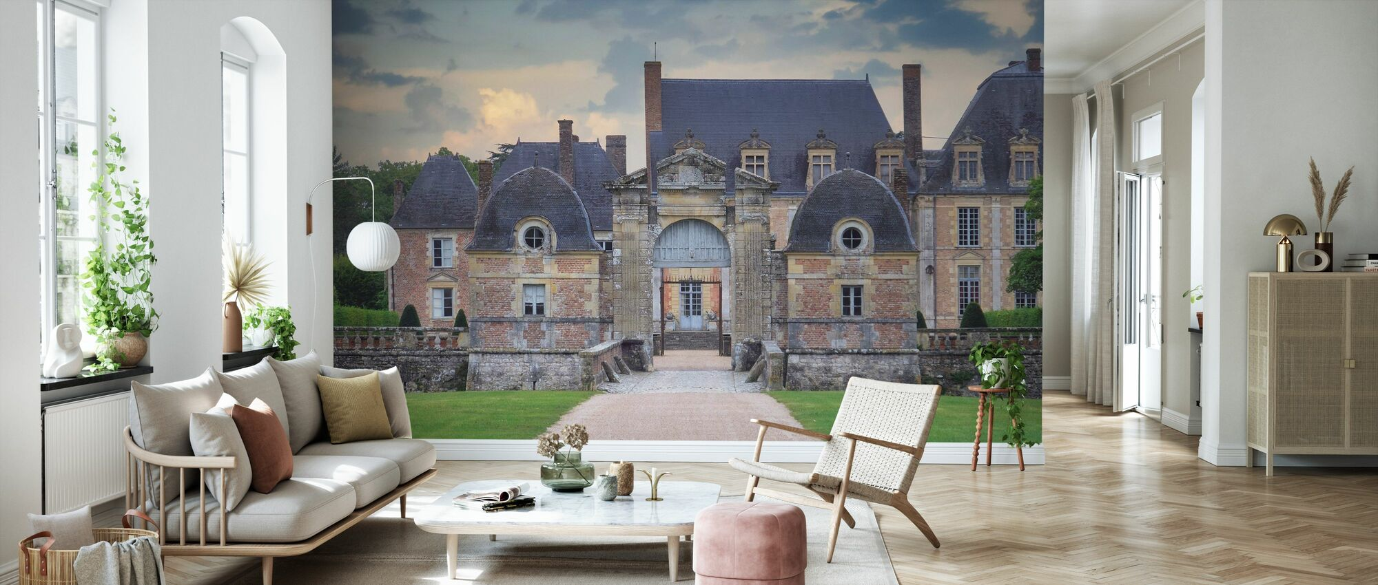 Castle with Gate - Wallpaper - Living Room