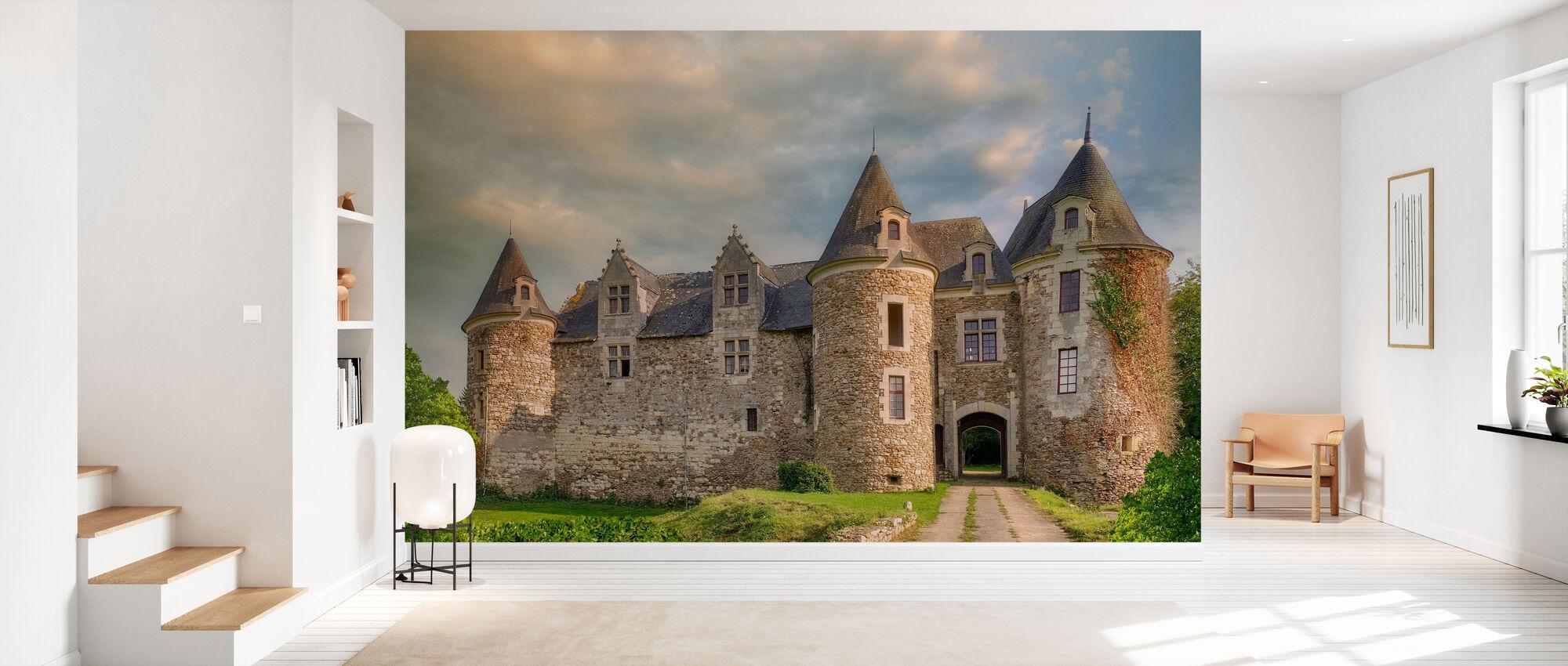 Countryside Castle - Wallpaper - Hallway