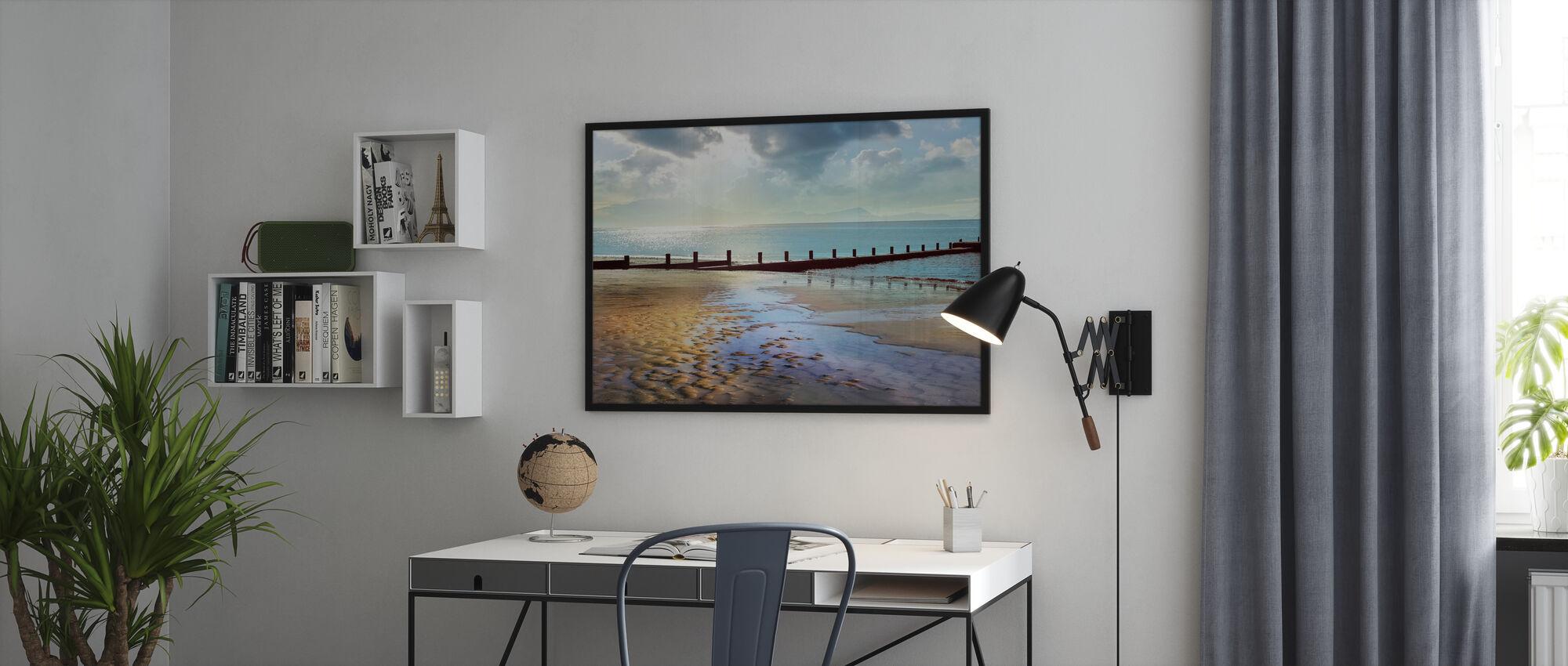 Beachline solrik utsikt - Innrammet bilde - Kontor