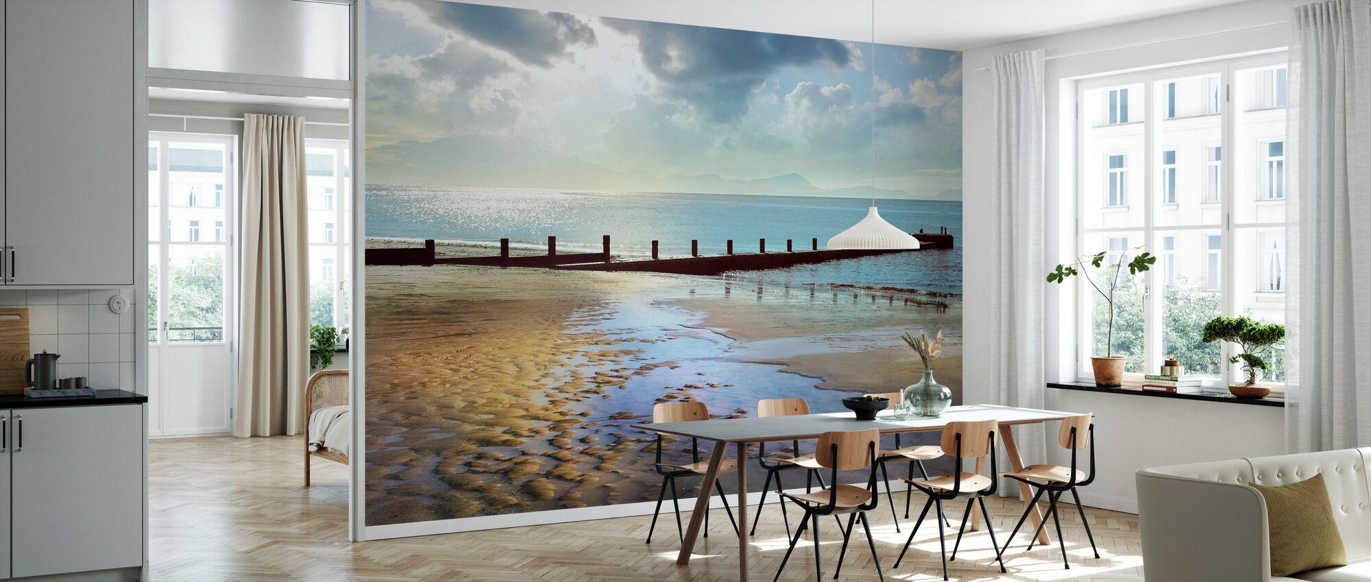 Beachline Sunny View - Wallpaper - Kitchen