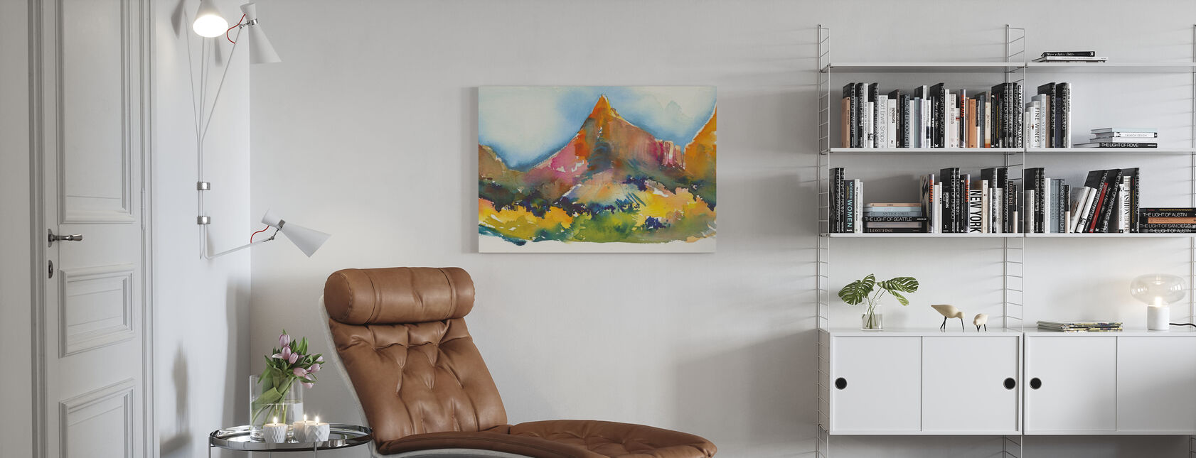 Canyon Land - Canvas print - Woonkamer