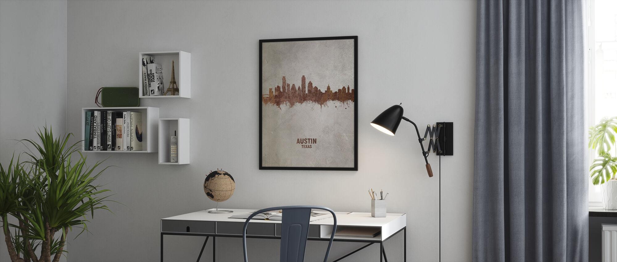 Austin Texas Skyline - Plakat - Kontor