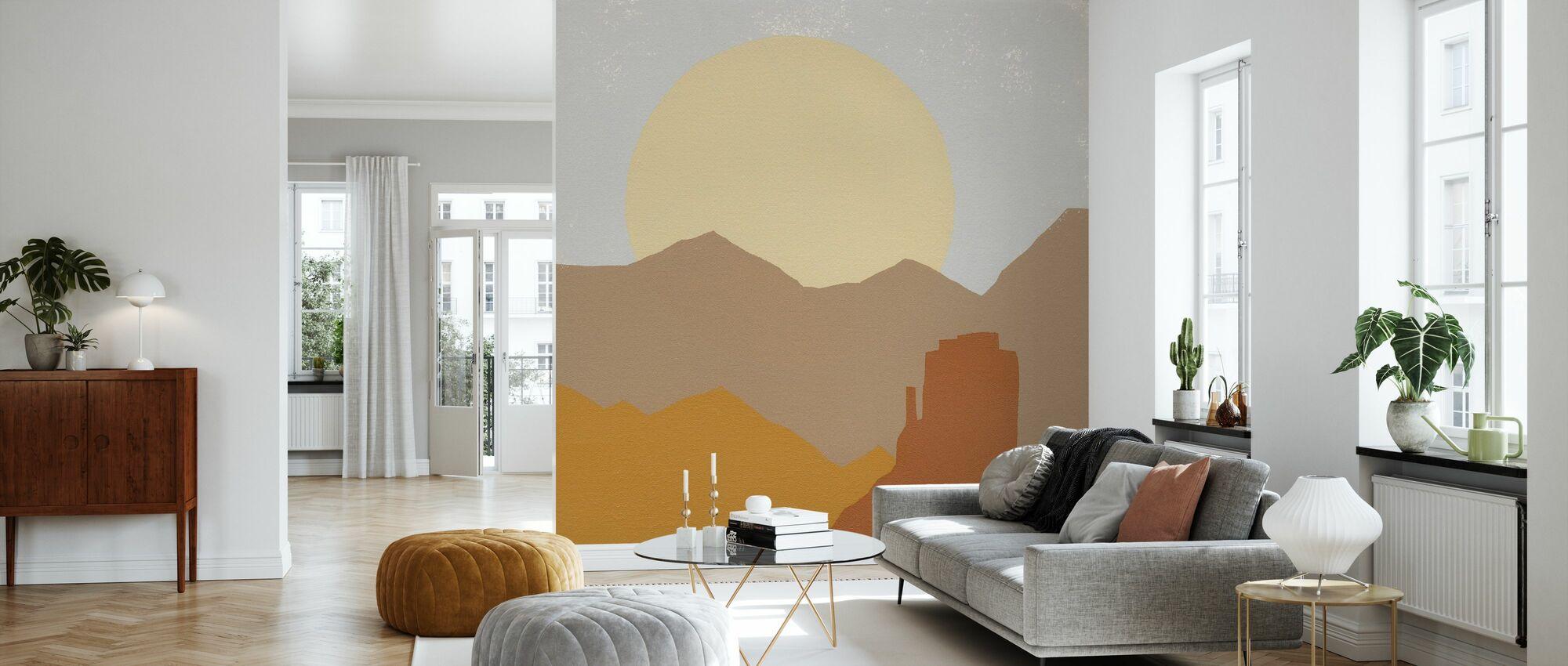 Desert Sun - Wallpaper - Living Room