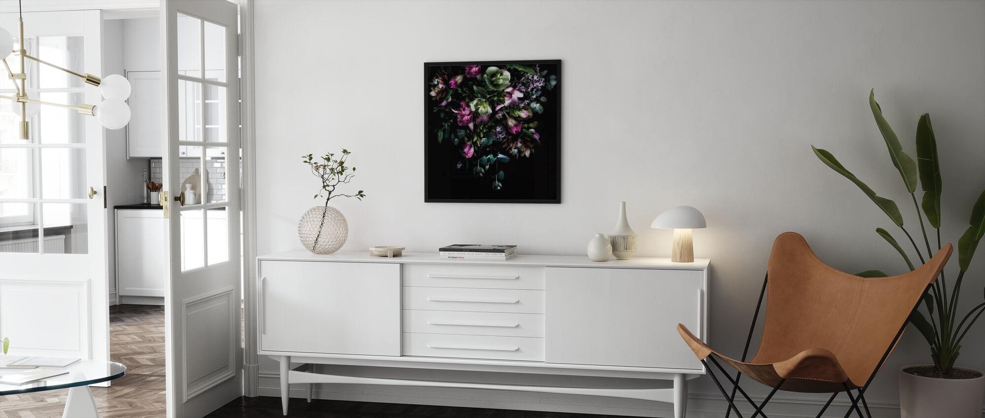 Bouquet Hellebores - Affiche - Salle à manger