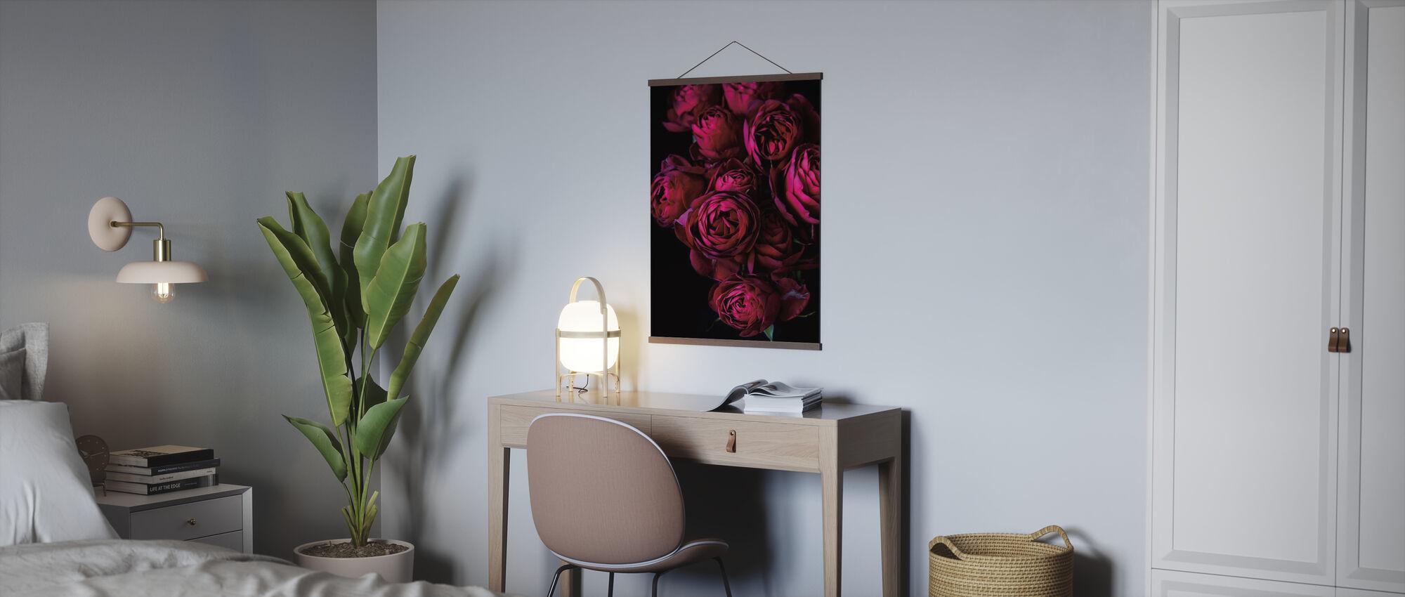 Roses de chou - Affiche - Bureau