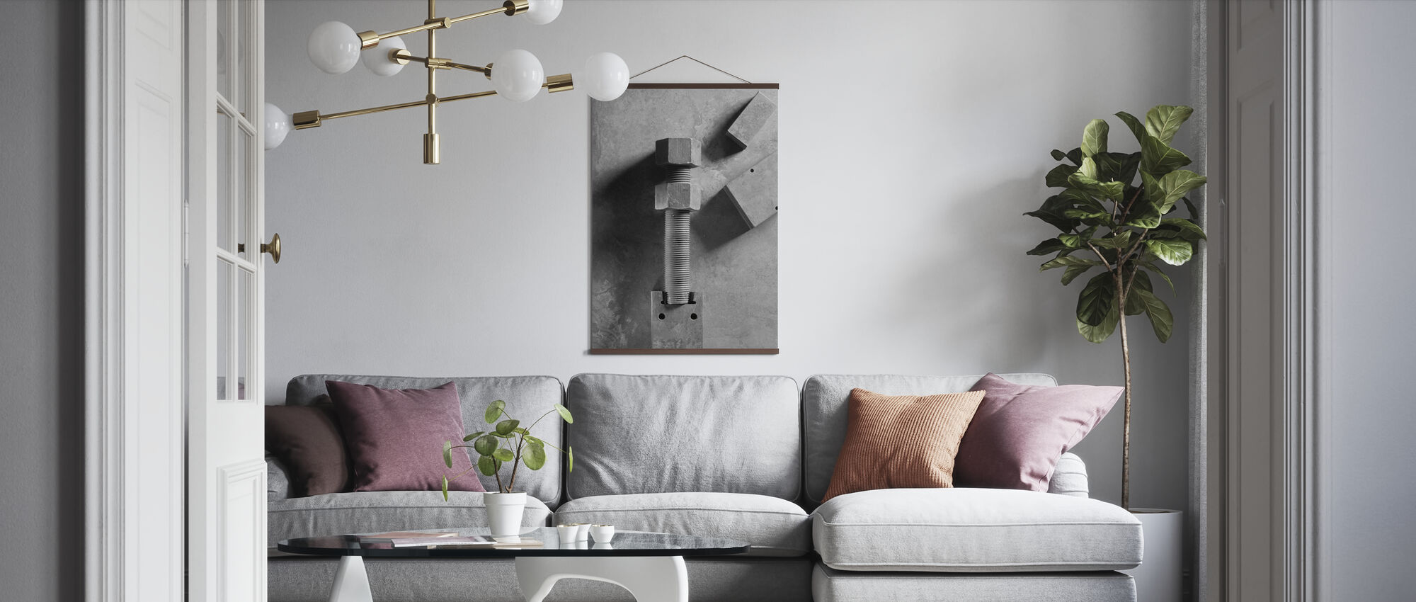 Bridge Bolts - Poster - Living Room