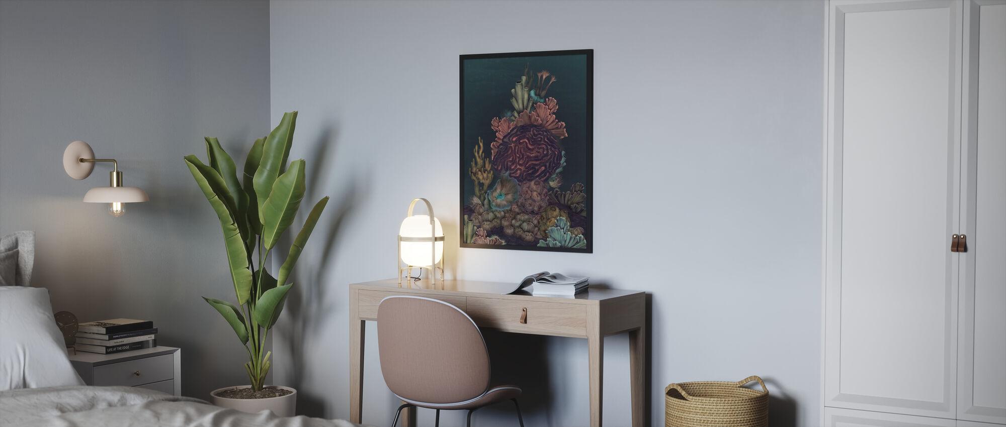 Shiny Corals - Poster - Bedroom