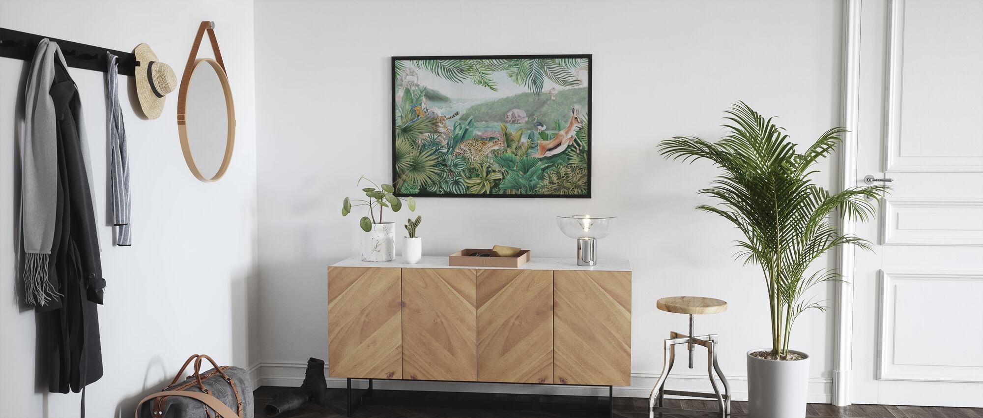 Jungle Inzichten - Poster - Gang