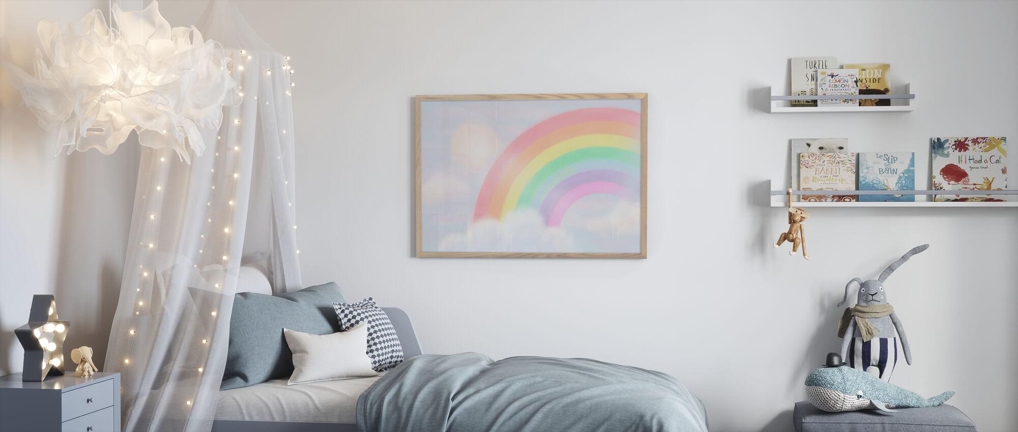 Glitrende Rainbow II - Plakat - Barnerom