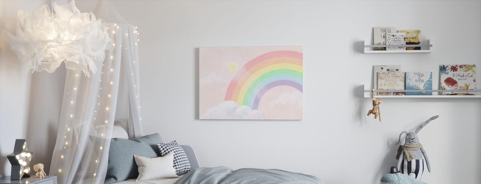 Sparkling Rainbow III - Canvas print - Kids Room