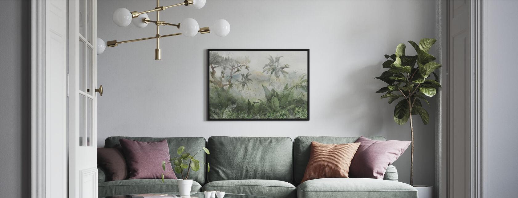Sonnenstrahl Trog Dschungel - Poster - Wohnzimmer