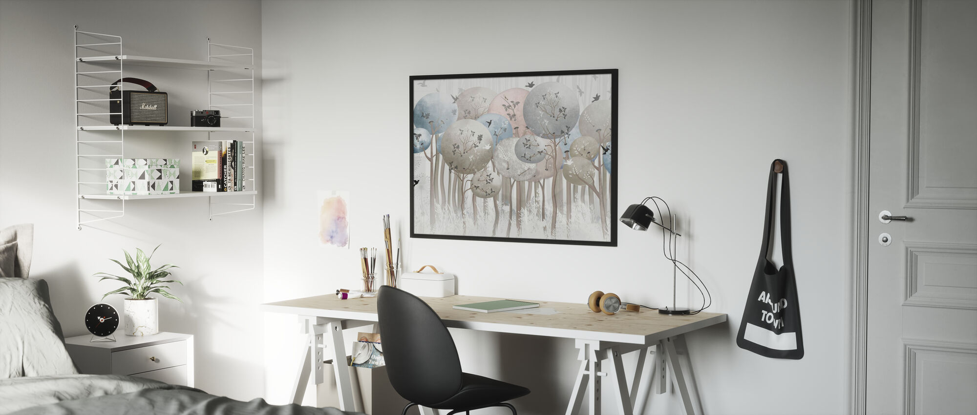 Globe Forest - Poster - Kids Room