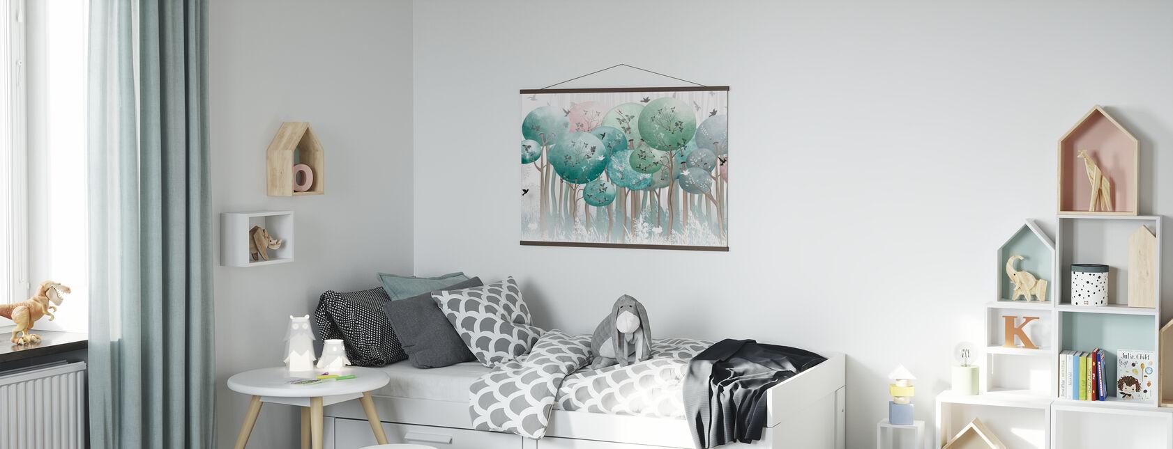 Globe Forest II - Poster - Camera dei bambini