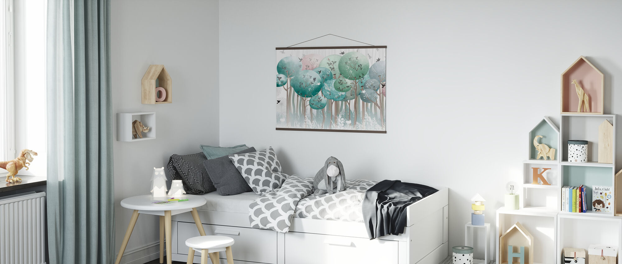 Globe Forest II - Poster - Kids Room
