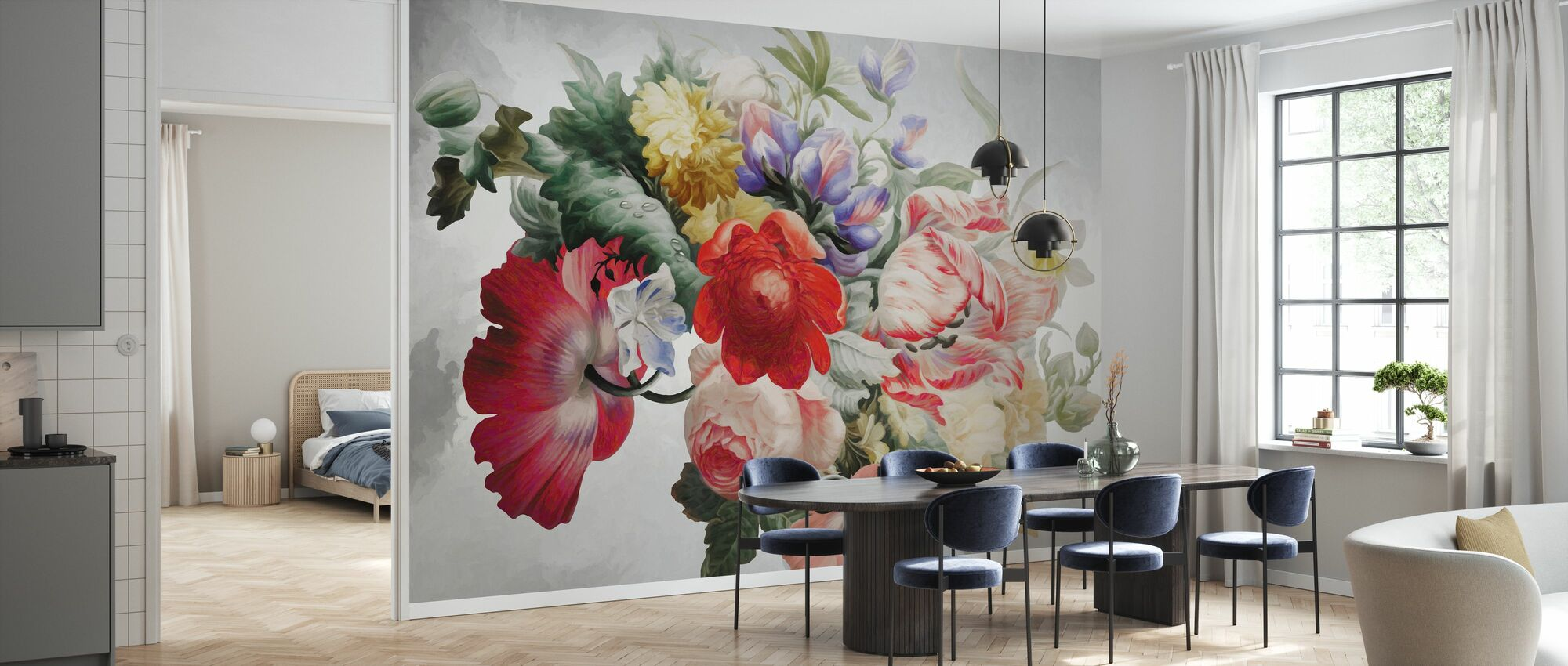 Tender Tulips - Wallpaper - Kitchen