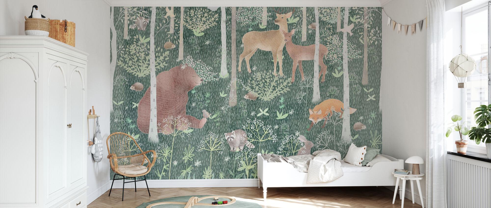 Wildlife - Wallpaper - Kids Room