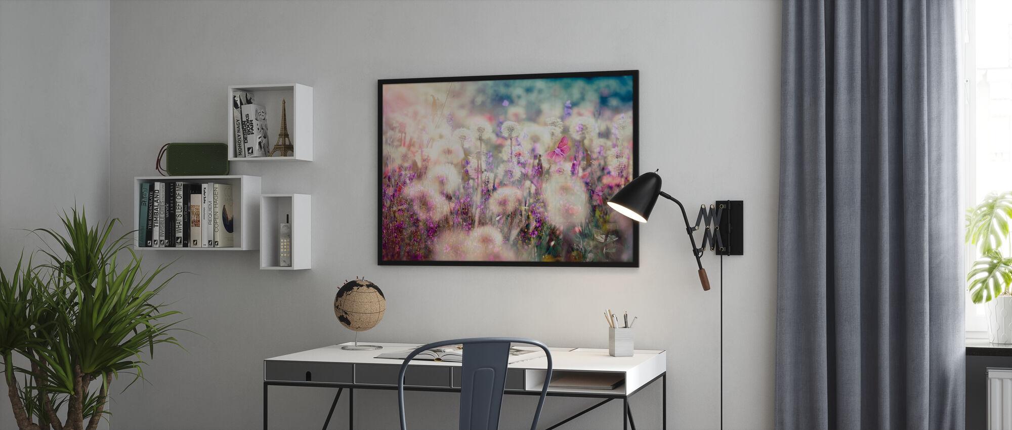 Spring - Dandelion Seed - Poster - Office