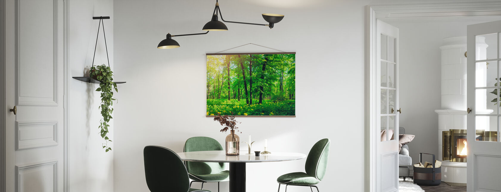 Green Forest in Summer - Poster - Kitchen