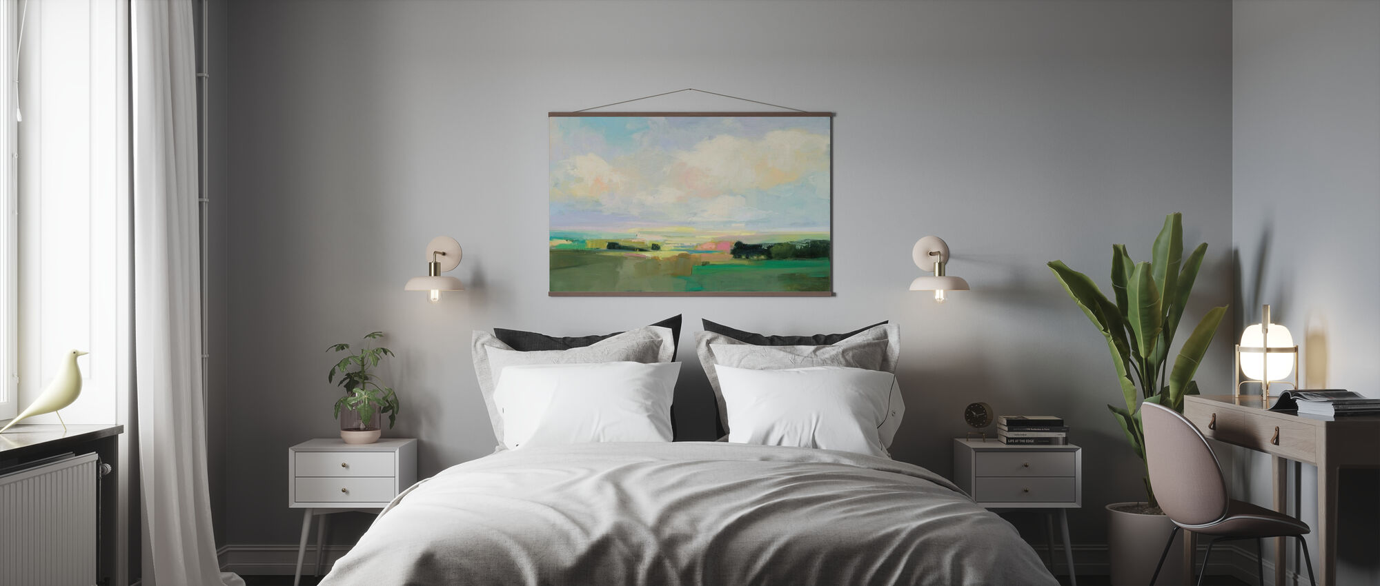 Sommer himmel - Plakat - Soveværelse