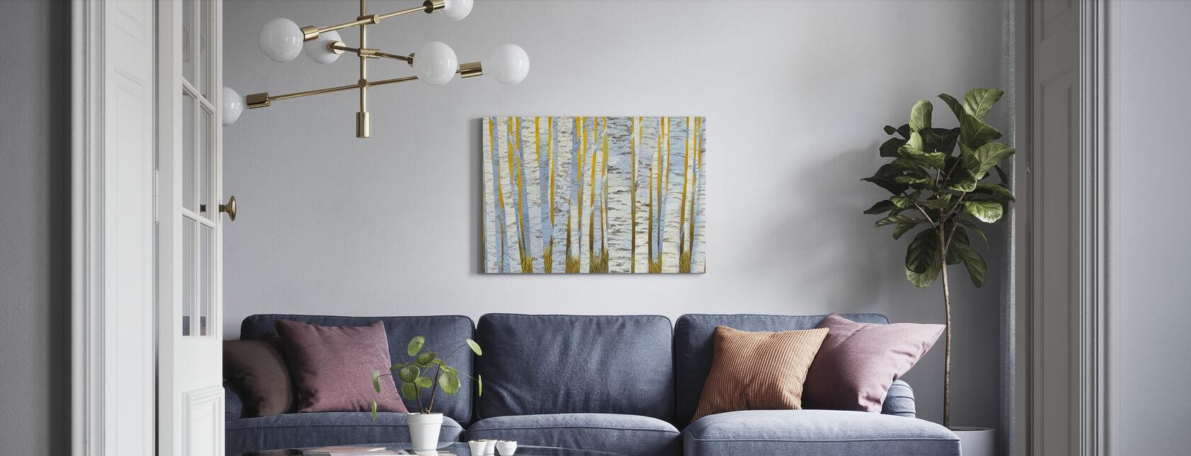 Aspen Grove - Canvas print - Living Room