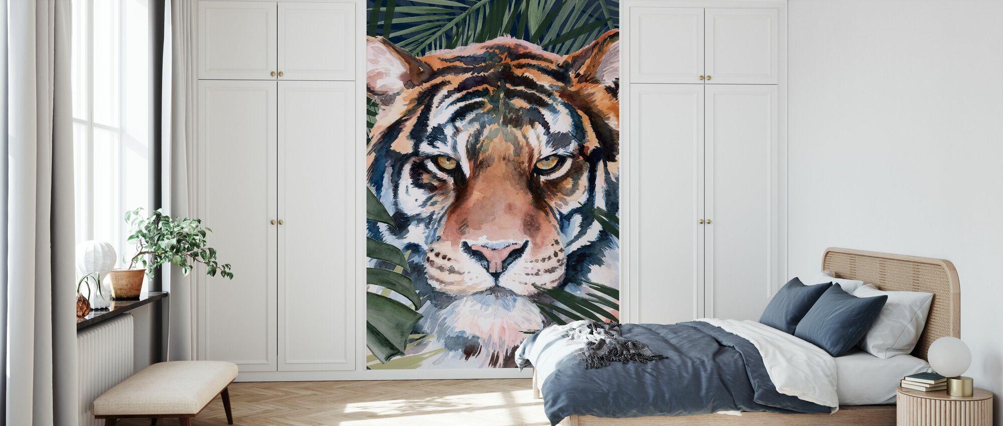 Jungle Kat - Behang - Slaapkamer