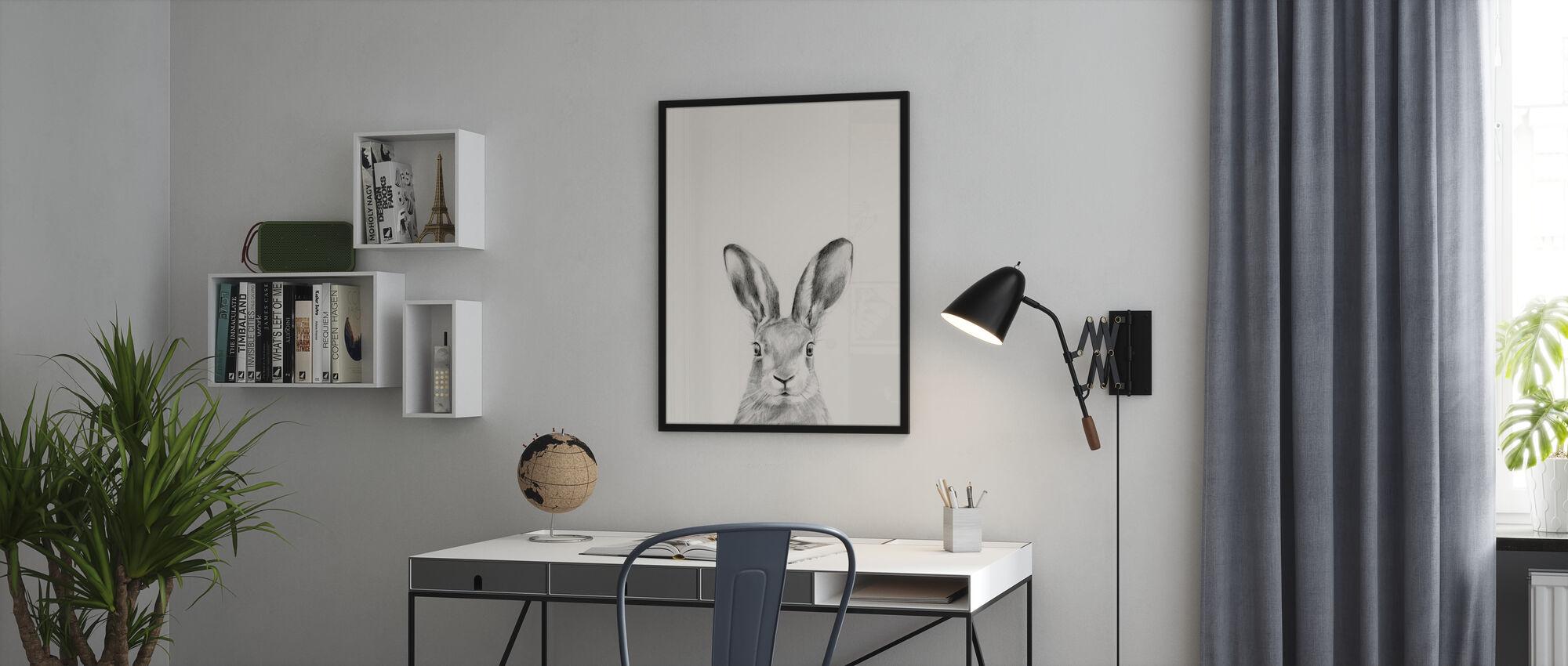 Eläinmuki - Kehystetty kuva - Toimisto