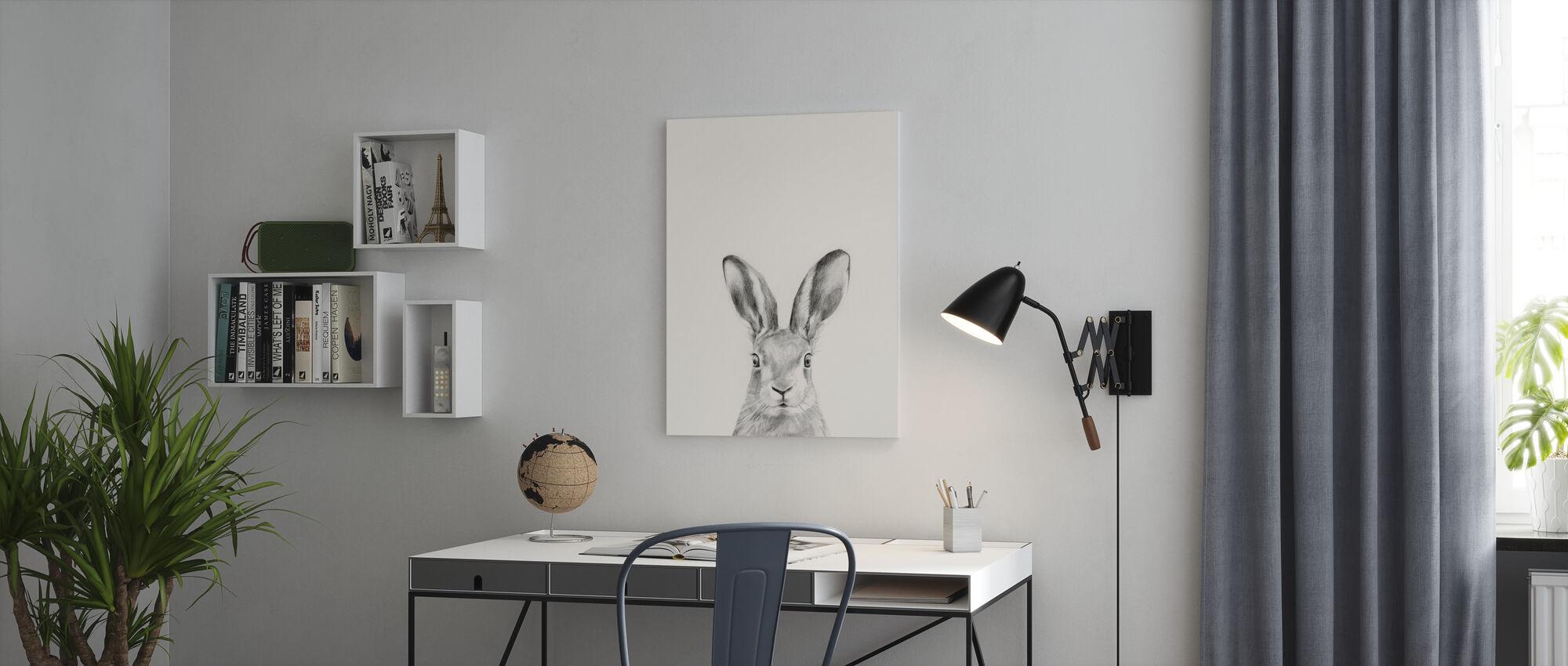 Animal Mug - Canvas print - Office
