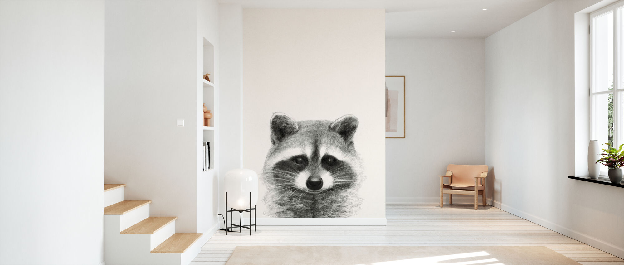 Animal Mug II - Wallpaper - Hallway