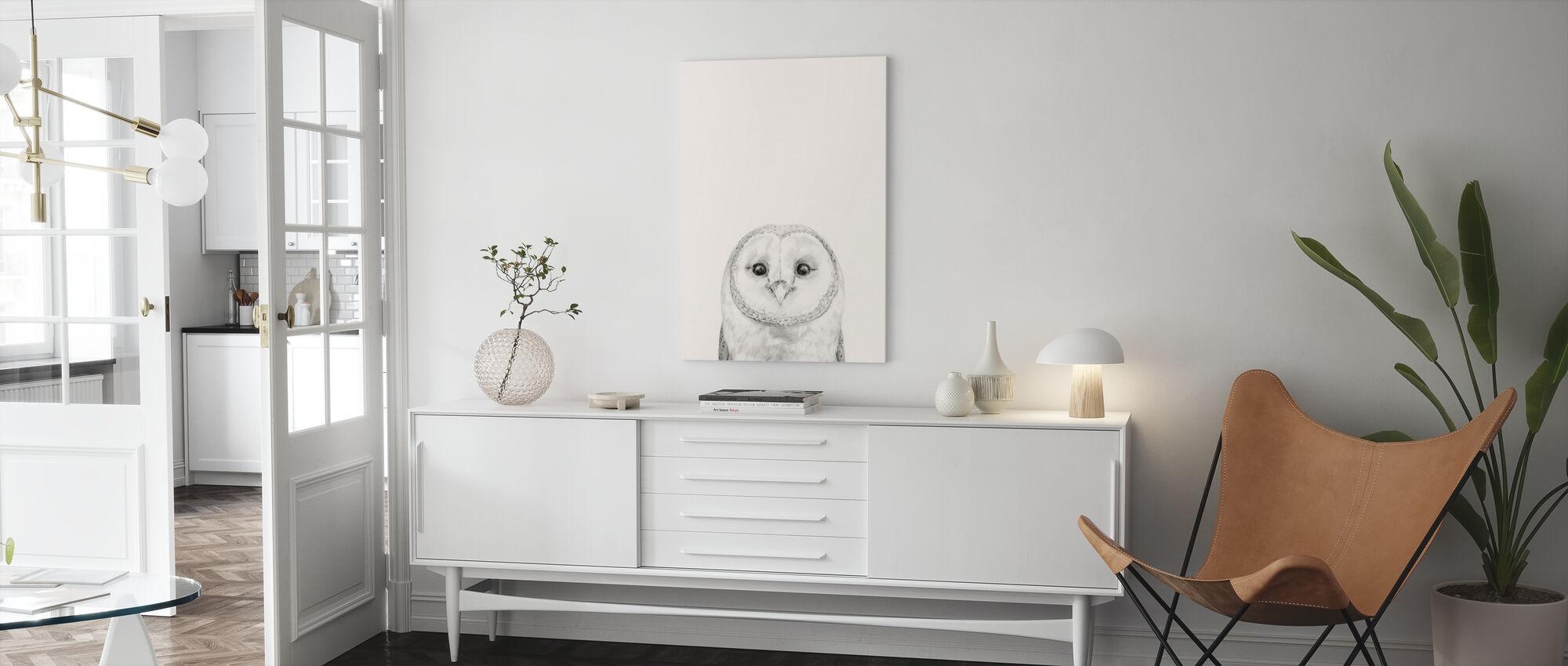 Animal Mug III - Canvas print - Living Room