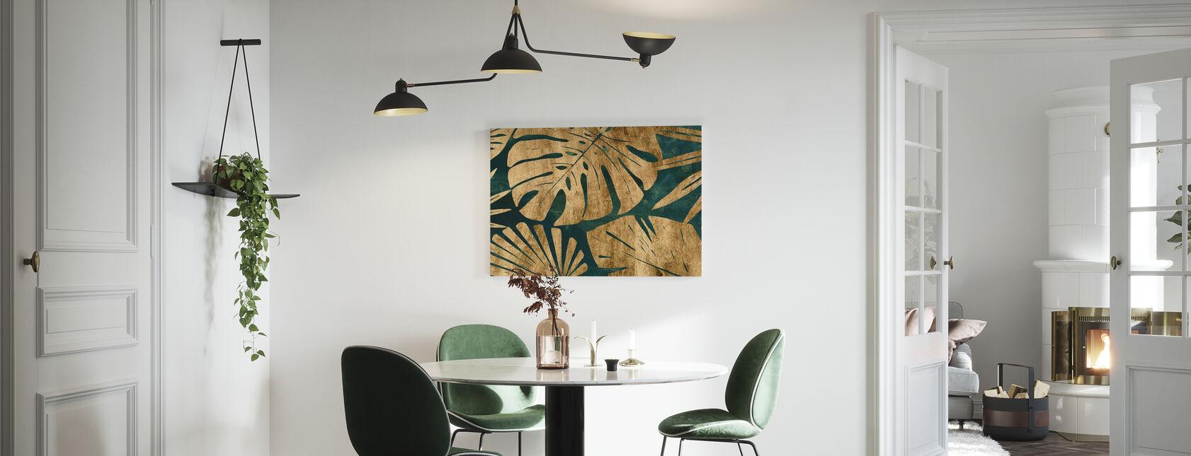 Giungla smeraldo - Stampa su tela - Cucina