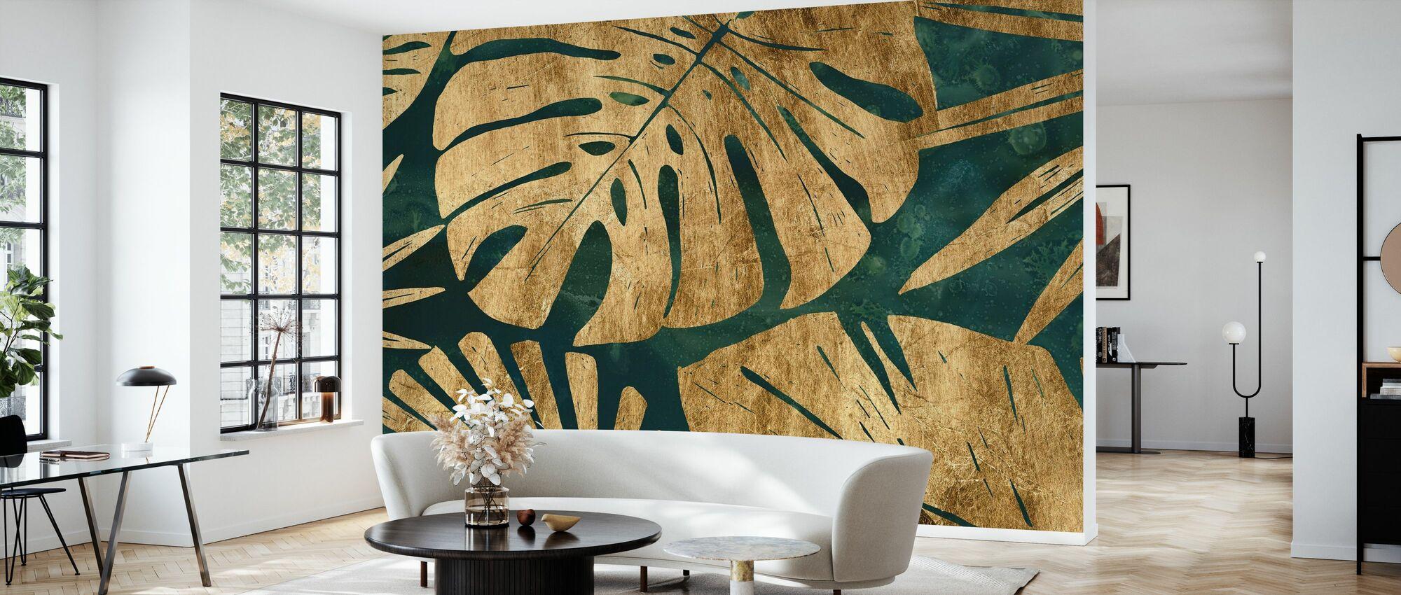 Smaragd djungel - Tapet - Vardagsrum