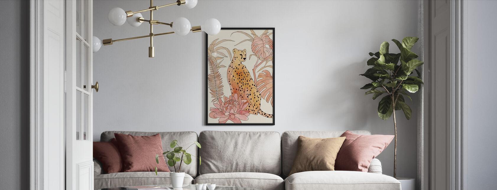 Rouge Gepard - Poster - Wohnzimmer