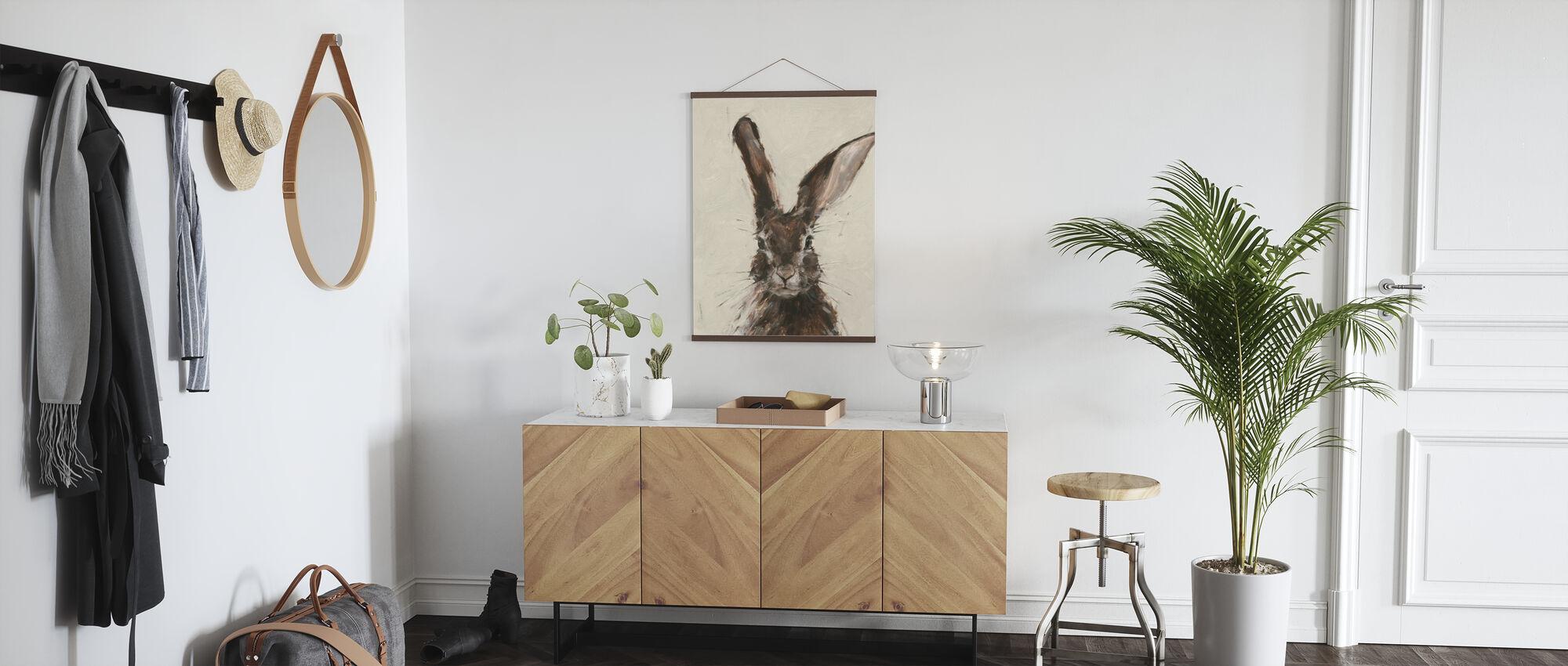 European Hare - Poster - Hallway