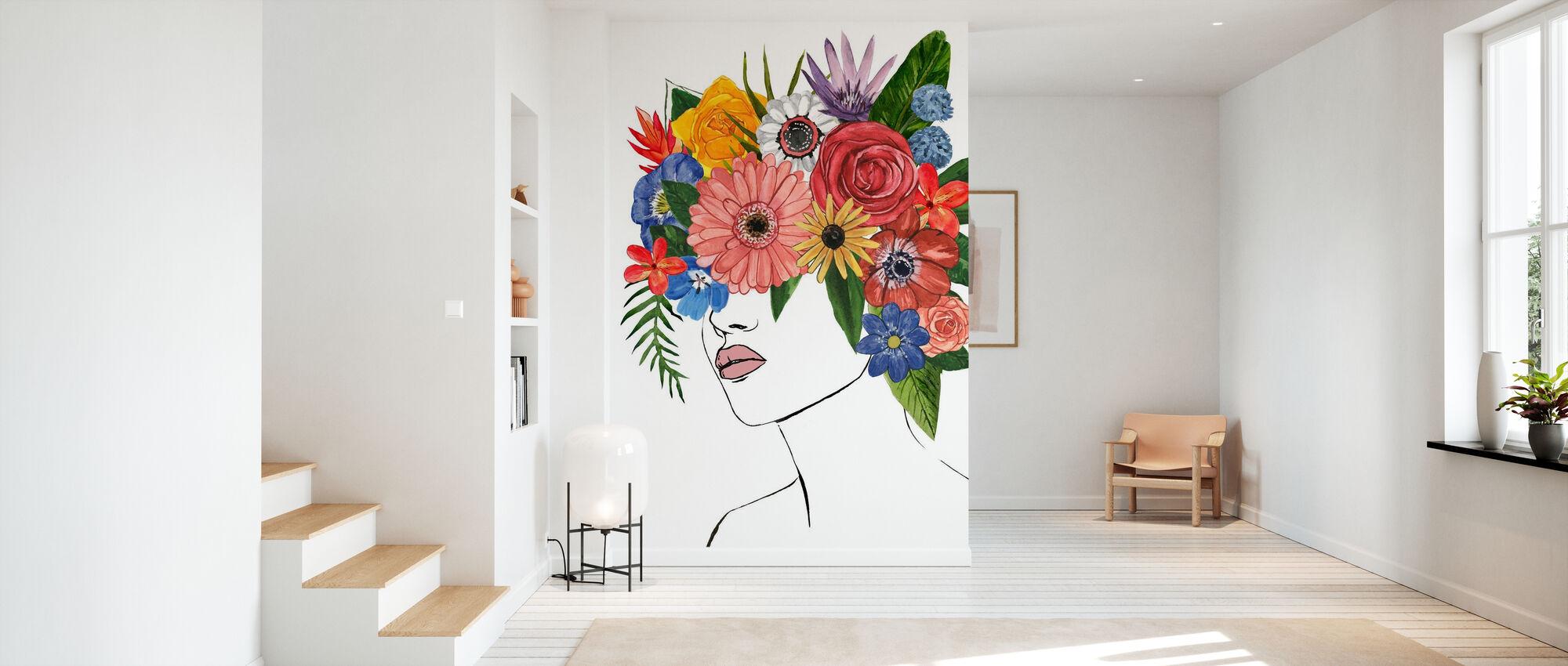 Flower Lady - Wallpaper - Hallway