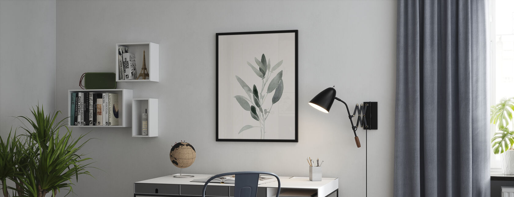 Delicate Sage Botanical II - Poster - Office