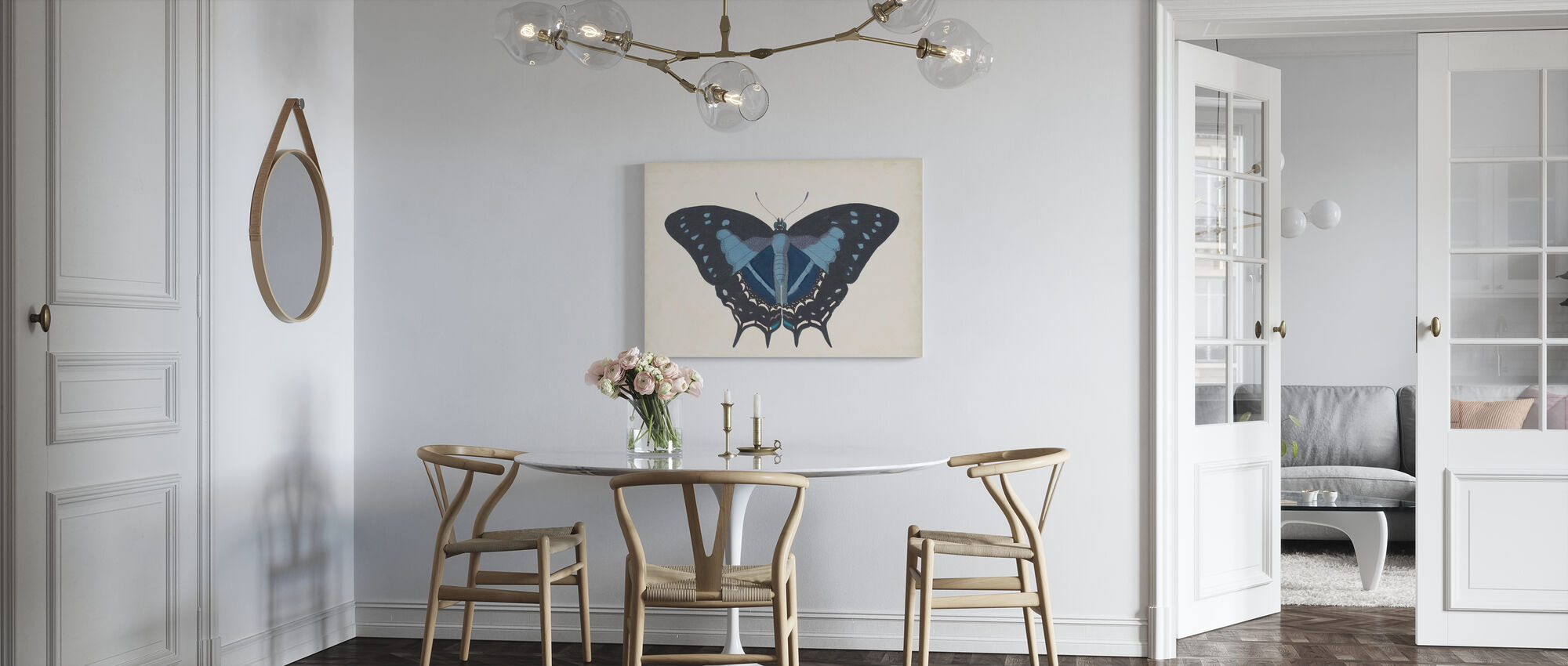 Beautiful Butterfly - Canvas print - Kitchen