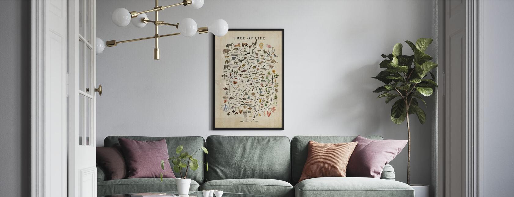 Baum des Lebens - Poster - Wohnzimmer