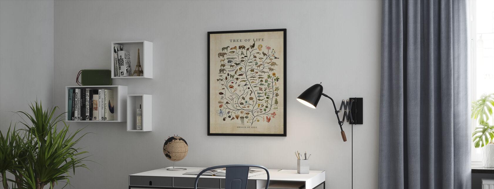 Tree of Life - Framed print - Office