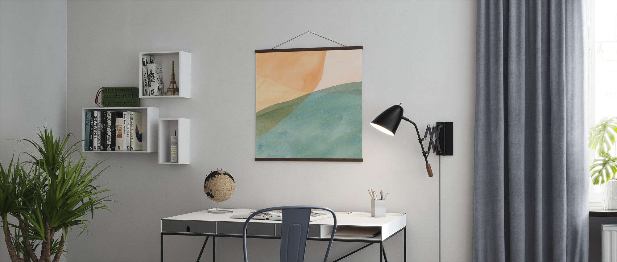 Pastel Color Study - Poster - Office