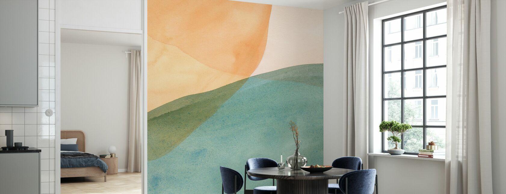 Pastel Color Study - Wallpaper - Kitchen