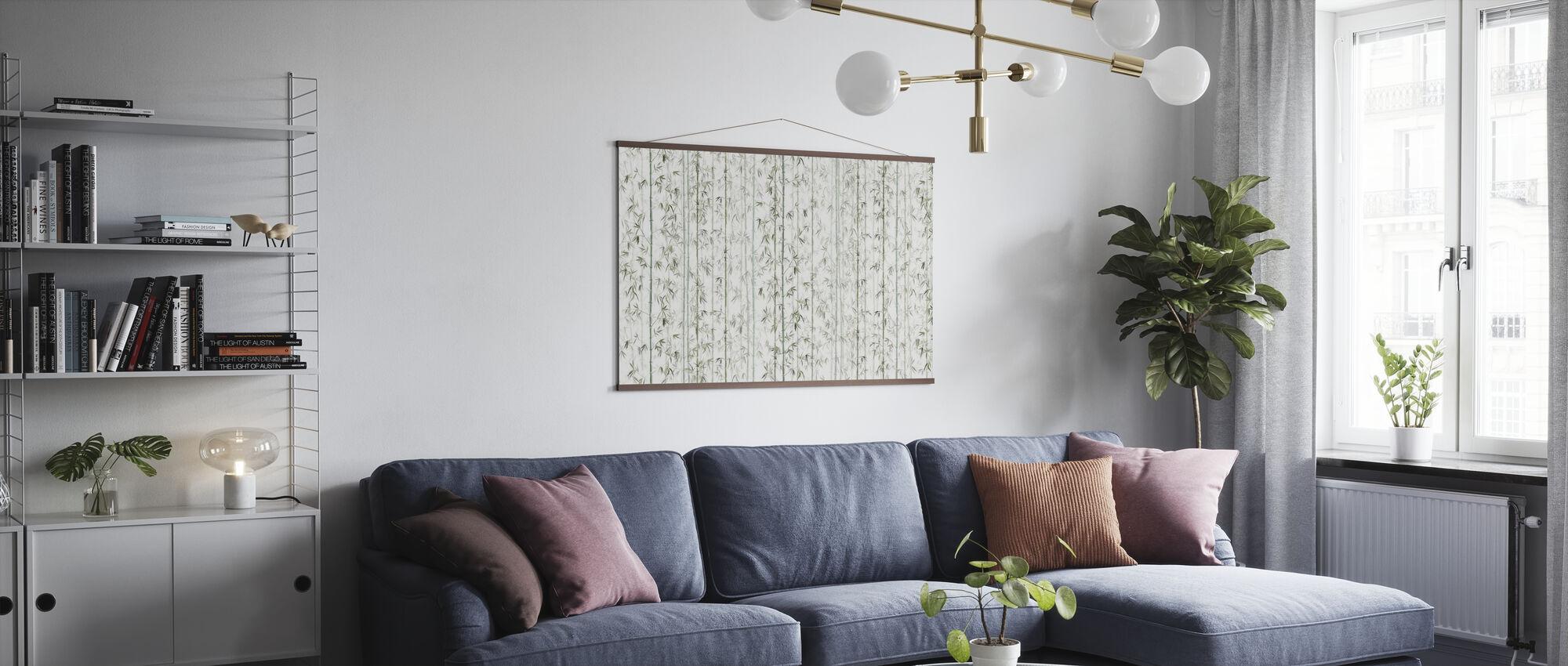 Bambusen - Plakat - Stue