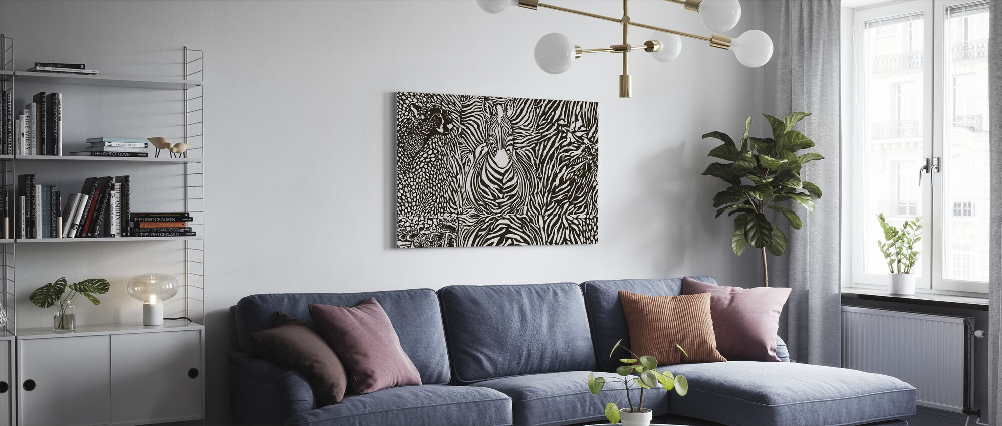 Wilderness Spirit - Canvas print - Living Room