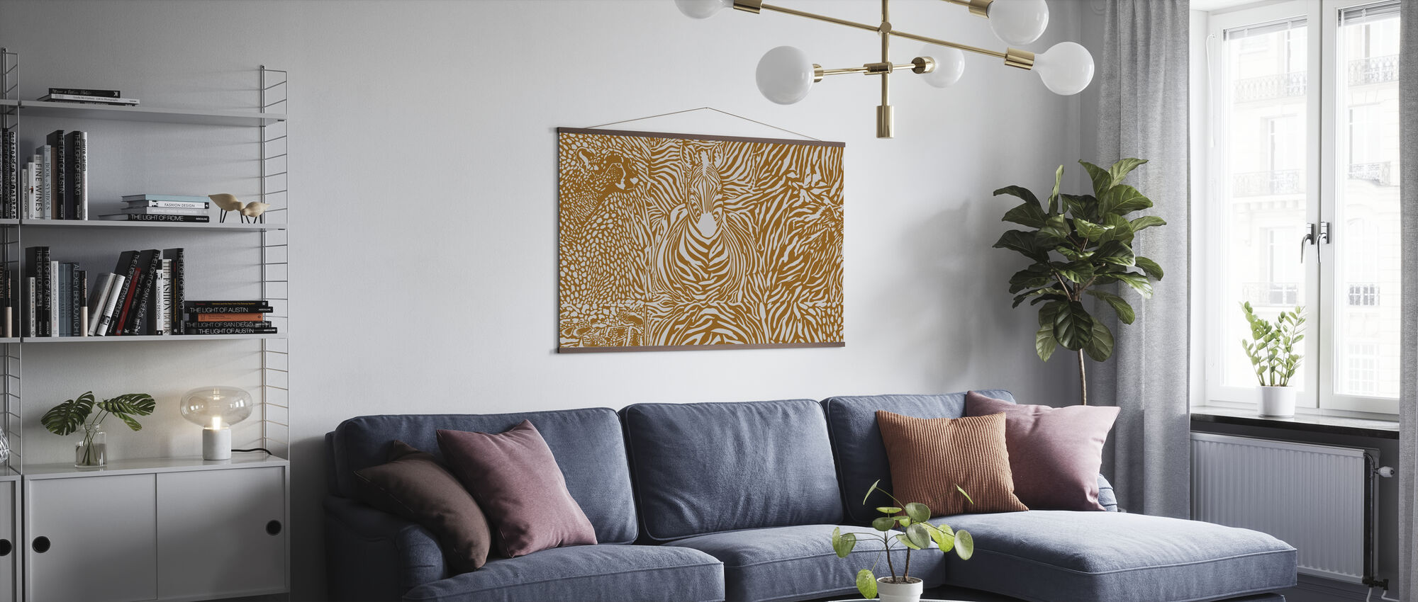 Wilderness Spirit II - Poster - Living Room