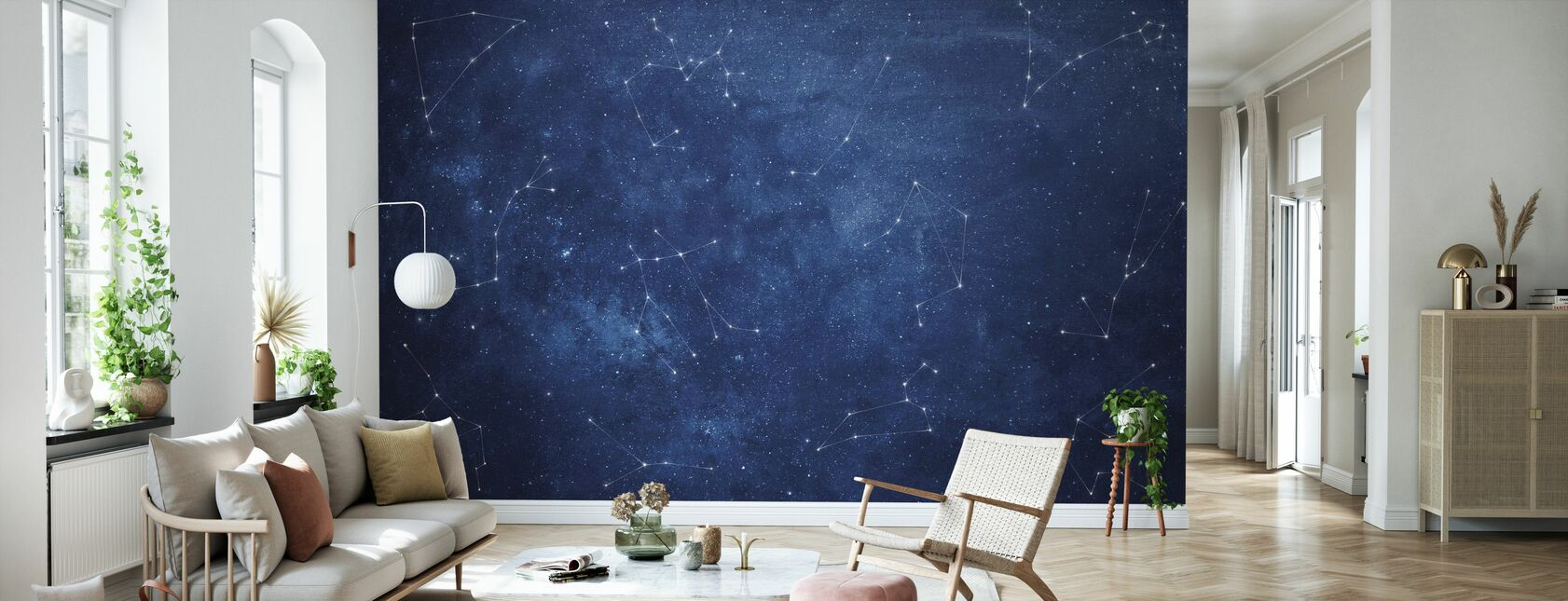 Zoodiac Sky - Wallpaper - Living Room