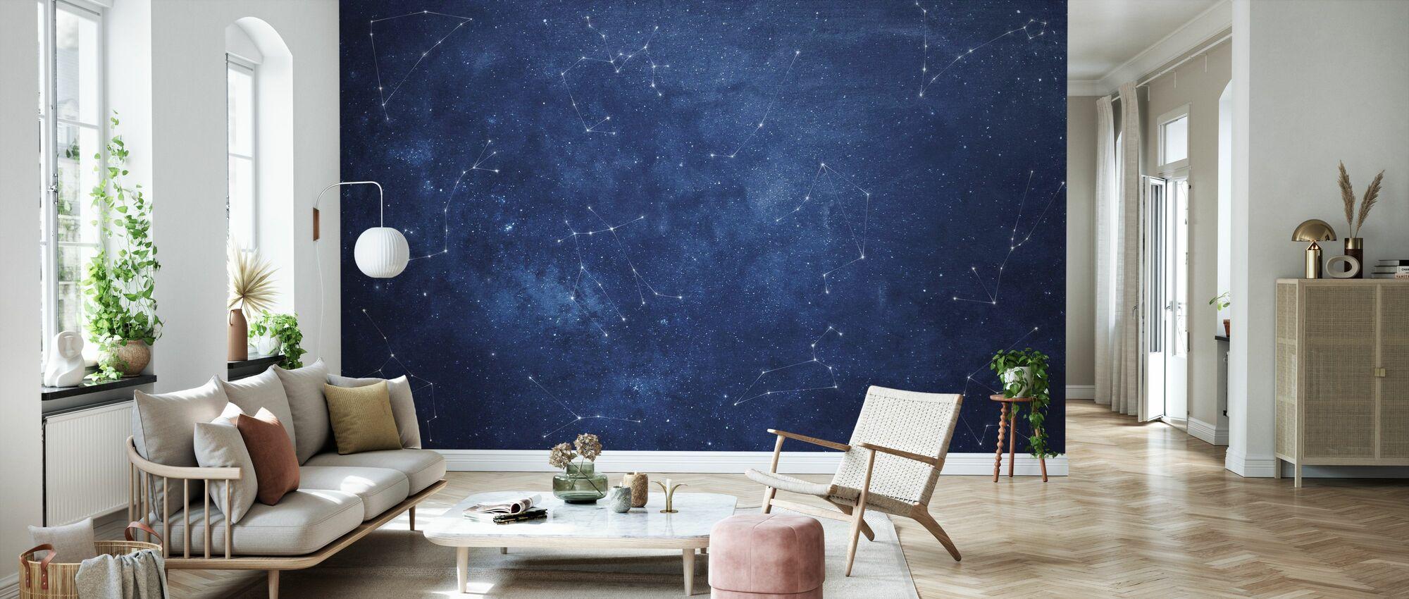 Zoodiac Sky - Wallpaper - Living Room