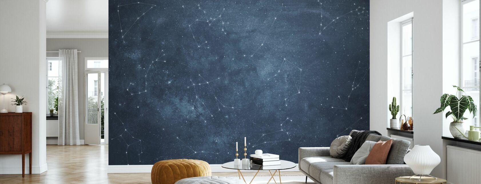 Stjernetegn Himmel II - Tapet - Stue