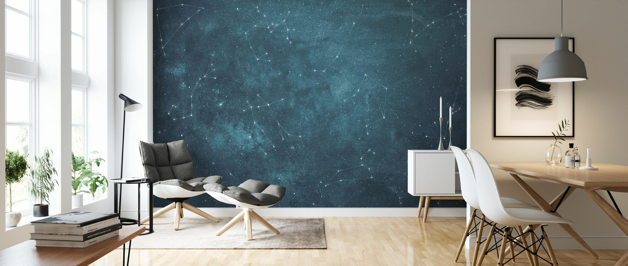 Zoodiac Sky III - Wallpaper - Living Room
